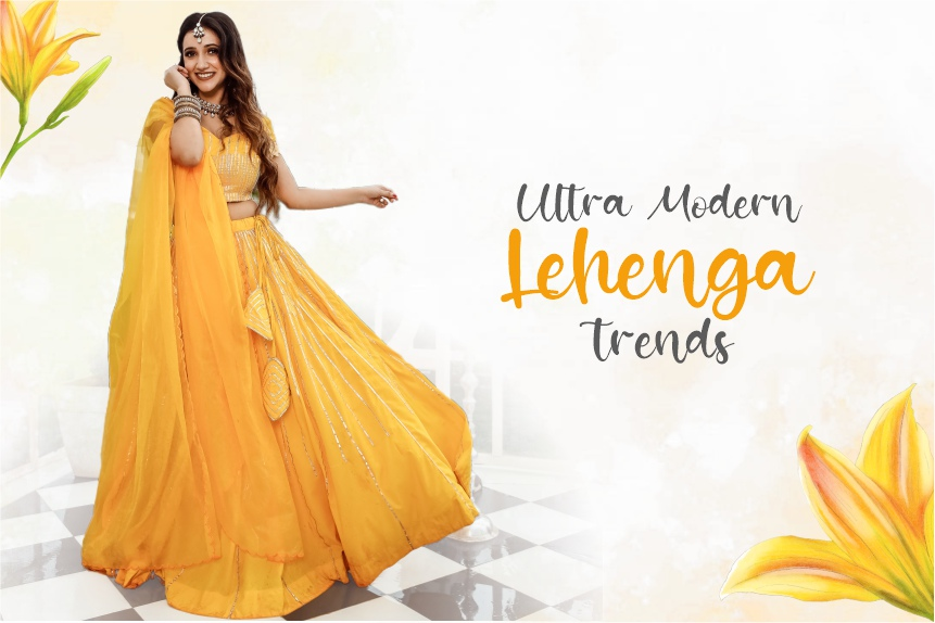 Ultra Modern Lehenga trends to Look forward to in 2020 Hello Gorgeous!
